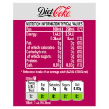 image 3 of Diet Coke Feisty Cherry 1.25Ltr