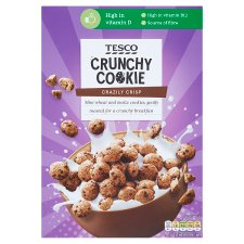 Tesco Crunchy Cookie Cereal 325G