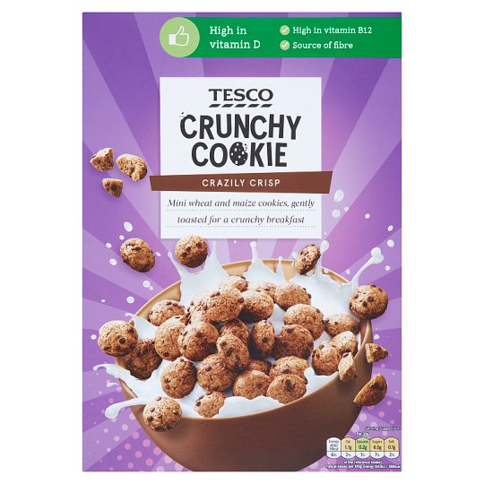 T Crunchy Cookie Cereal 325G