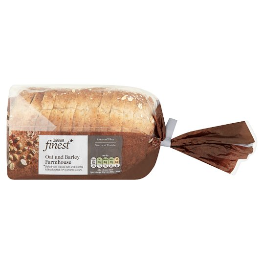 Tesco Finest Oat And Barley Loaf 400G