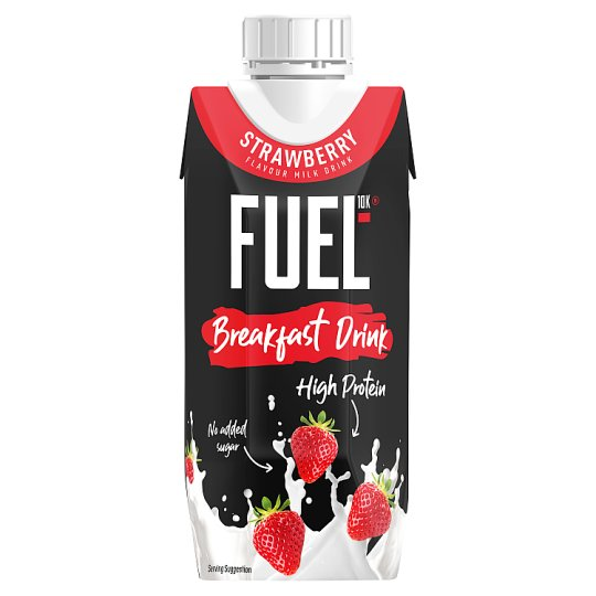 Fuel 10K Liquid Breakfast Strawberry Drink 330Ml