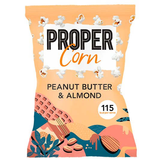 Propercorn Peanut Butter And Almond Popcorn 90 G