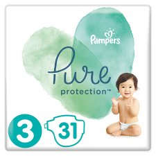 image 1 of Pampers Pure Protection Size3 31 Nappies