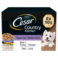 Cesar Country Kitchen Dog Food Trays 8 X150g