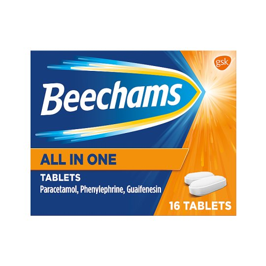 image 1 of Beechams All In One Tablets 16S