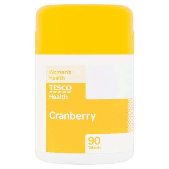 Tesco Cranberry 90 Tablets