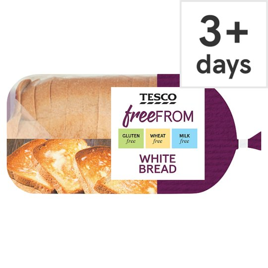 Tesco Free From Sliced White Bread 550G