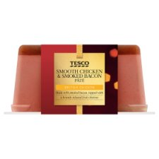 Tesco Chicken And Smoked Bacon Pate 200G