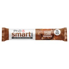 Phd Smart Salted Fudge Bownie Bar 64G