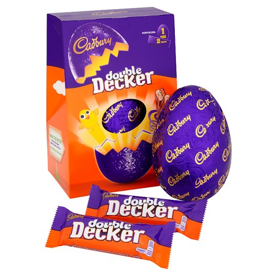 image 1 of Cadbury Double Decker Large Easter Egg 307G