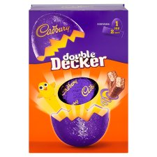image 2 of Cadbury Double Decker Large Easter Egg 307G