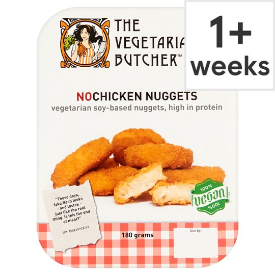 Vegetarian Butcher No Chick Nuggets 180G