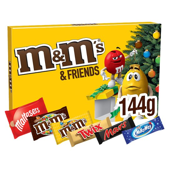 image 1 of M&M's And Friends Medium Selection Box 144G
