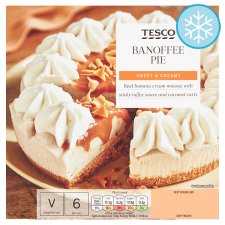 Tesco Banoffee Pie 500G