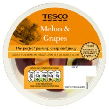 Tesco Melon And Grapes Duo 400G