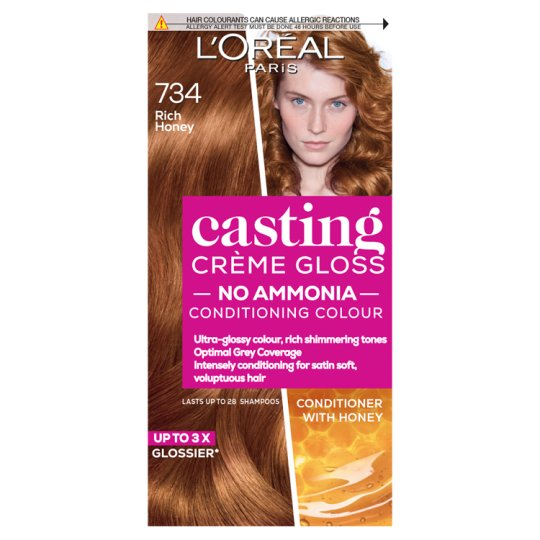 image 1 of L'or/Ccg Rich Honey 734 Hair Dye