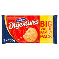 Mcvities Digestive Twin Pack 2X400g