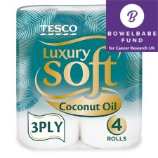 Tesco Luxury Soft Coconut Oil X4