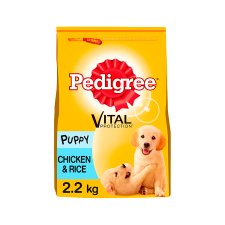 image 1 of Pedigree Chicken And Rice Dry Puppy Food 2.2Kg