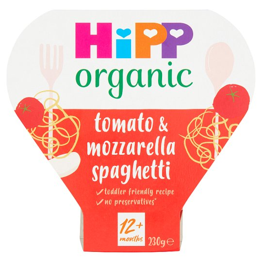 Hipp Organic 1 Year Spaghetti With Tomato And Mozzarella Sauce 260G
