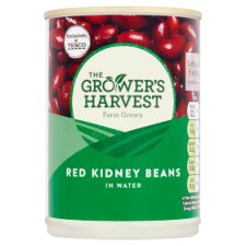 Growers Harvest Red Kidney Beans In Water 400G