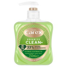 Carex Advance Clean Citrus Hand Wash 250Ml