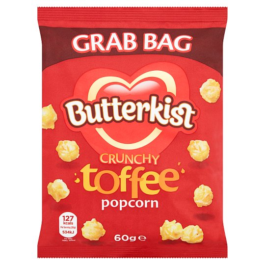 image 1 of Butterkist Popcorn Toffee 60G