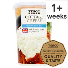 Tesco Natural Cottage Cheese 600G