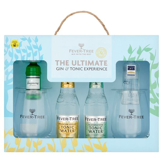 Fever Tree Gin And Tonic Perfect Serve Gift Set