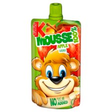 Kubus Apple And Banana Mousse 100G