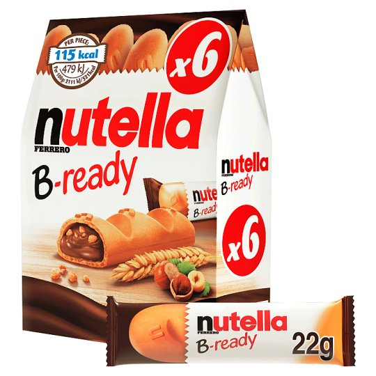 image 1 of Nutella B-Ready 6 X 22G