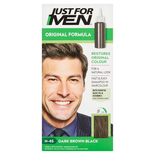 Just For Men Hair Colourant Dark Brown - Tesco Groceries