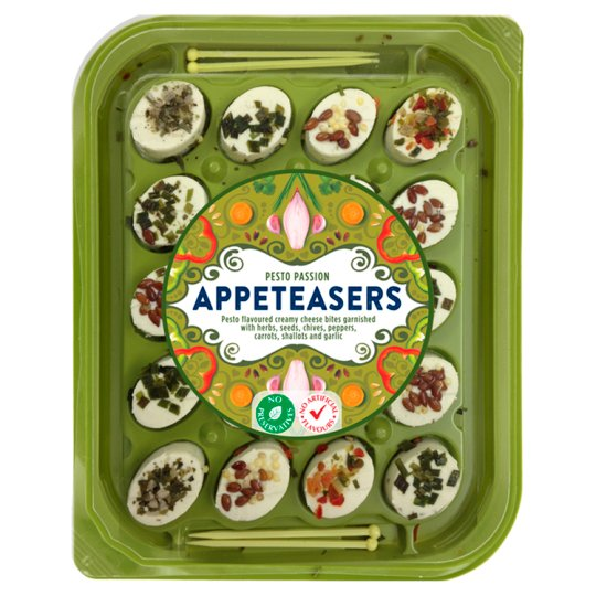 Appeteasers Pesto Passion Cheese Bites 100 G