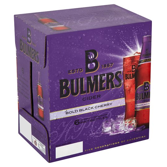 Bulmers Bold Black Cherry 6X568ml