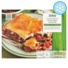Tesco Vegetarian Vegetable Lasagne 375G