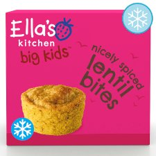 Ella's Kitchen Nicely Spiced Lentil Bites 8Pk 200G
