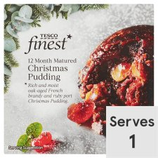 Tesco Finest Christmas Pudding 100G