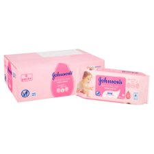 image 2 of Johnsons Baby Gentle All Over Wipes 6X56 Pack