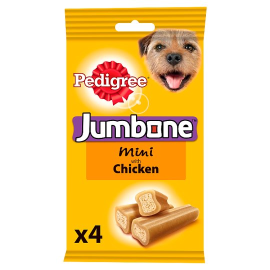 image 1 of Pedigree Jumbone Chicken Dog Treats 4 Chews, 180G