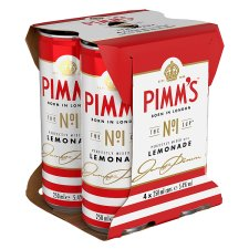 Pimm's & Lemonade 4 X 250Ml
