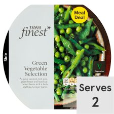 Tesco Finest Green Vegetable Selection 260G