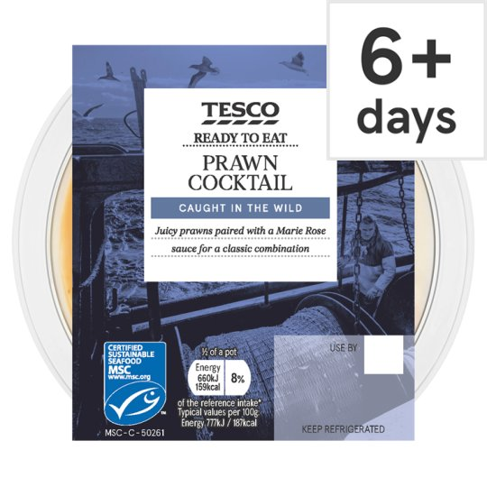 Tesco Prawn Cocktail 170G