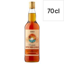 Tesco Spiced Rum 70Cl