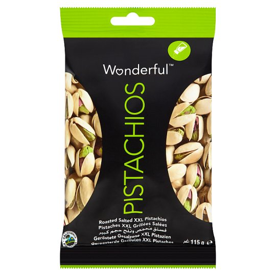 Wonderful Pistachios Roasted And Salted 115G