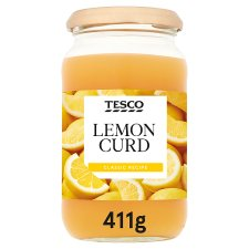 Tesco Lemon Curd 411G