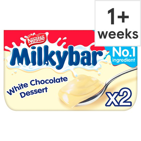 Nestle Milkybar White Chocolate Dessert 2 X70g