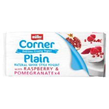 image 1 of Muller Corner Raspberry And Pomegranate Yogurt 4X135g