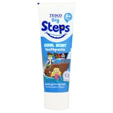 Tesco Steps Toothpaste 6+ 75Ml