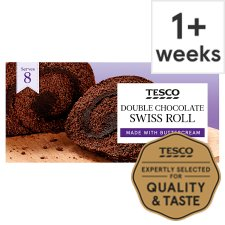 Tesco Double Chocolate Swiss Roll