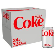 image 1 of Diet Coke 24 X 330Ml Pack
